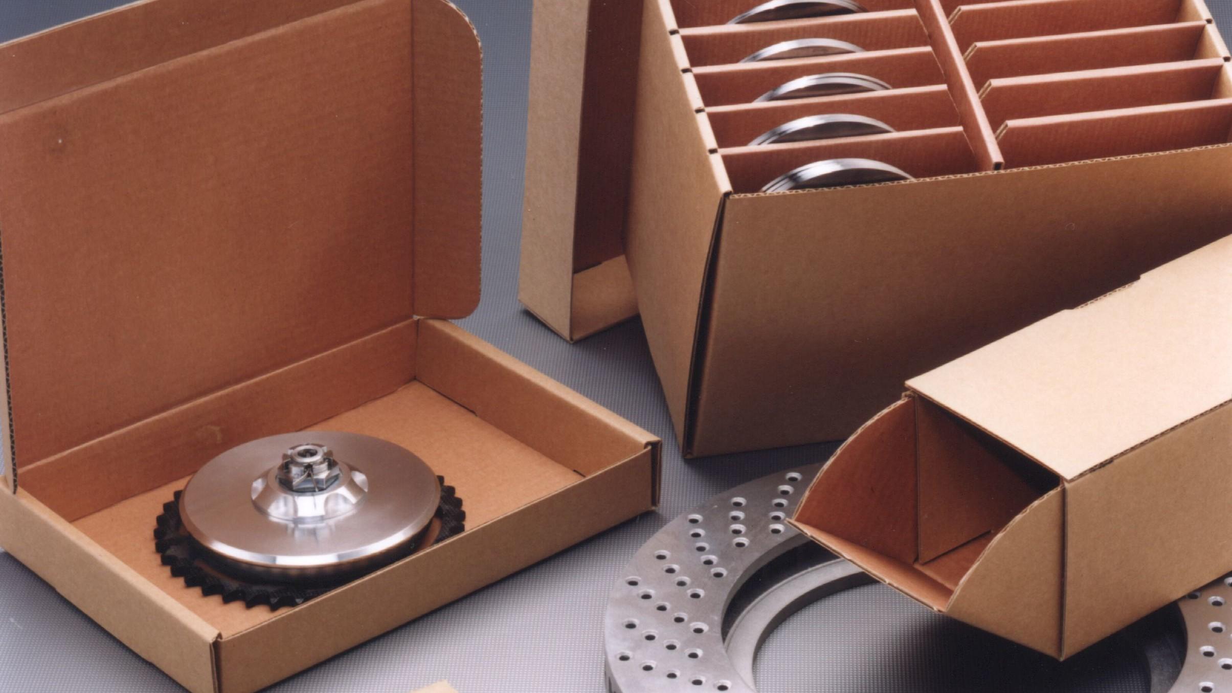 Signier-/Schablonenkarton Verpackung Korrosionsschutz Nawrot AG