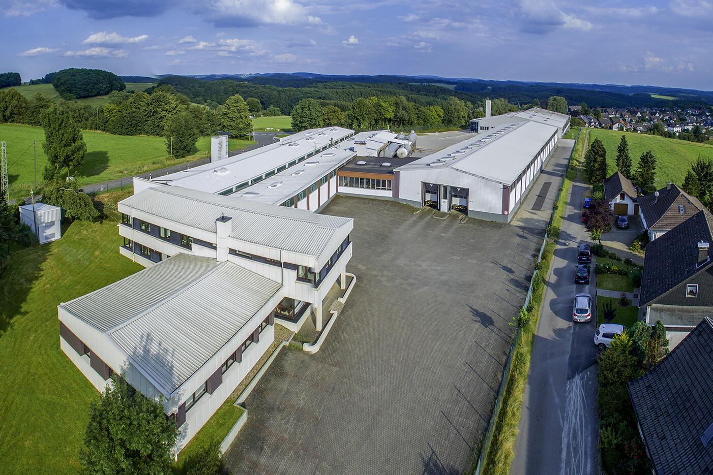 Nawrot AG panorama firmengebaeude Anfahrt Kontakt